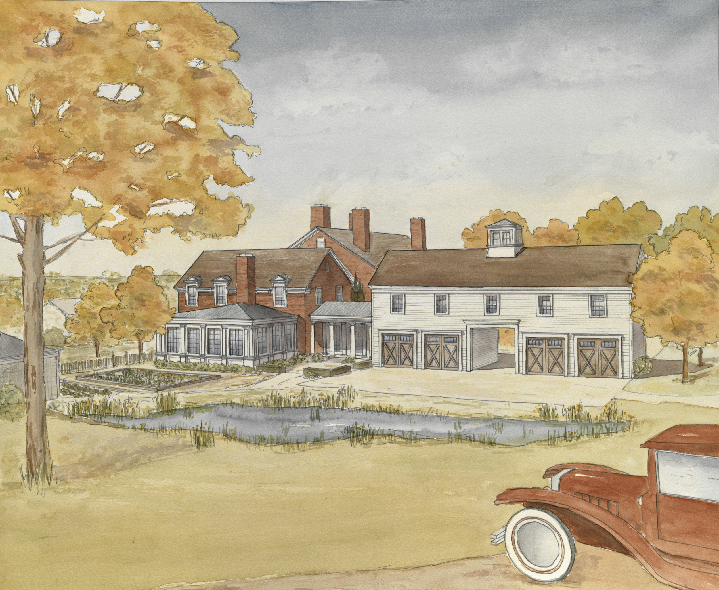 "STUDENT PORTFOLIO Rachel Staud for ""A New Country Estate"""