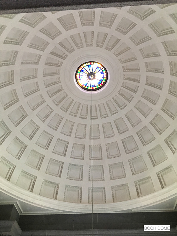 "CRAFTSMANSHIP/ARTISANSHIP Foster Reeve: Architectural and Ornamental Plaster for ""Boch Dome"""