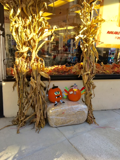 Turkey pumpkin. Innovative AND seasonally appropriate.