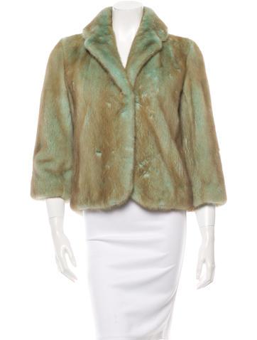 Celine mink coat