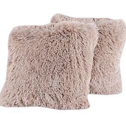 Furry Throw pillows