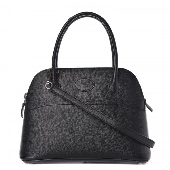 Hermes Epsom Bolide 27 Noir Black