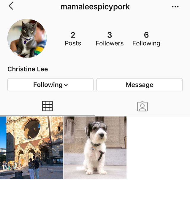 Mama Lee finally flexing on IG. Give her some love and follow @mamaleespicypork! Who else trademarked their mama? 🙋🏻‍♂️