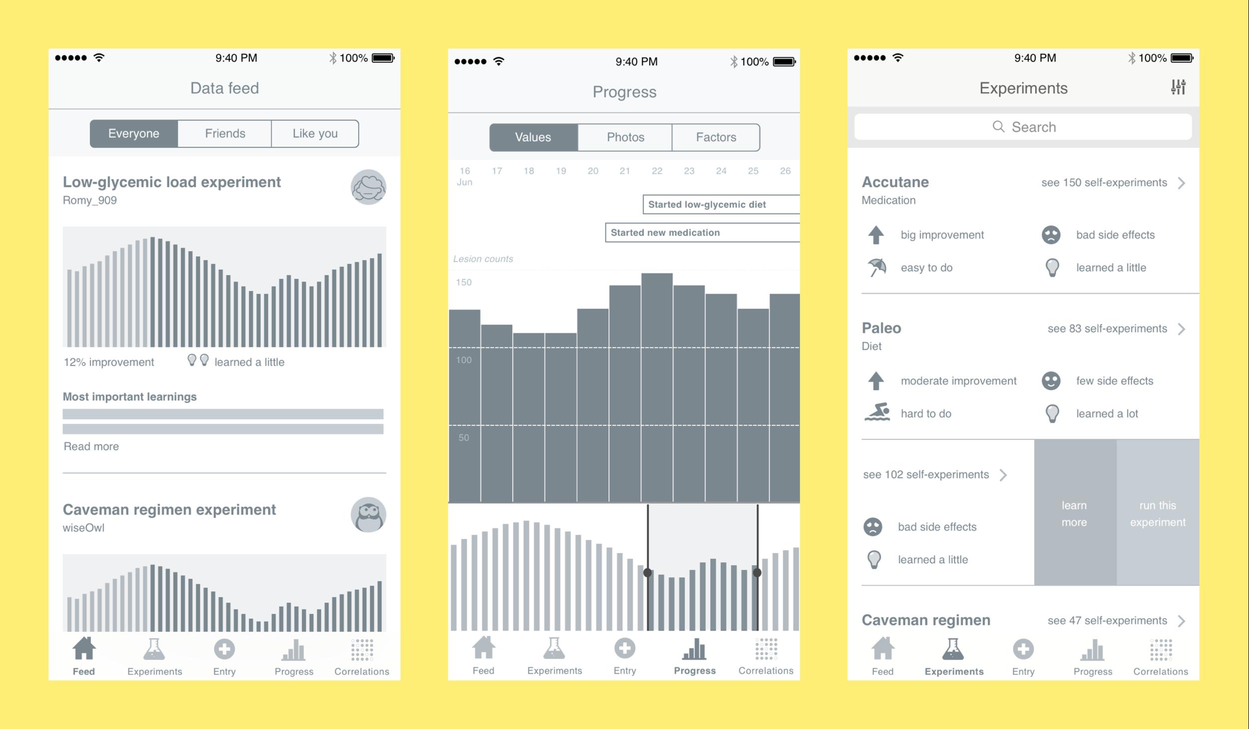 Patient app prototype
