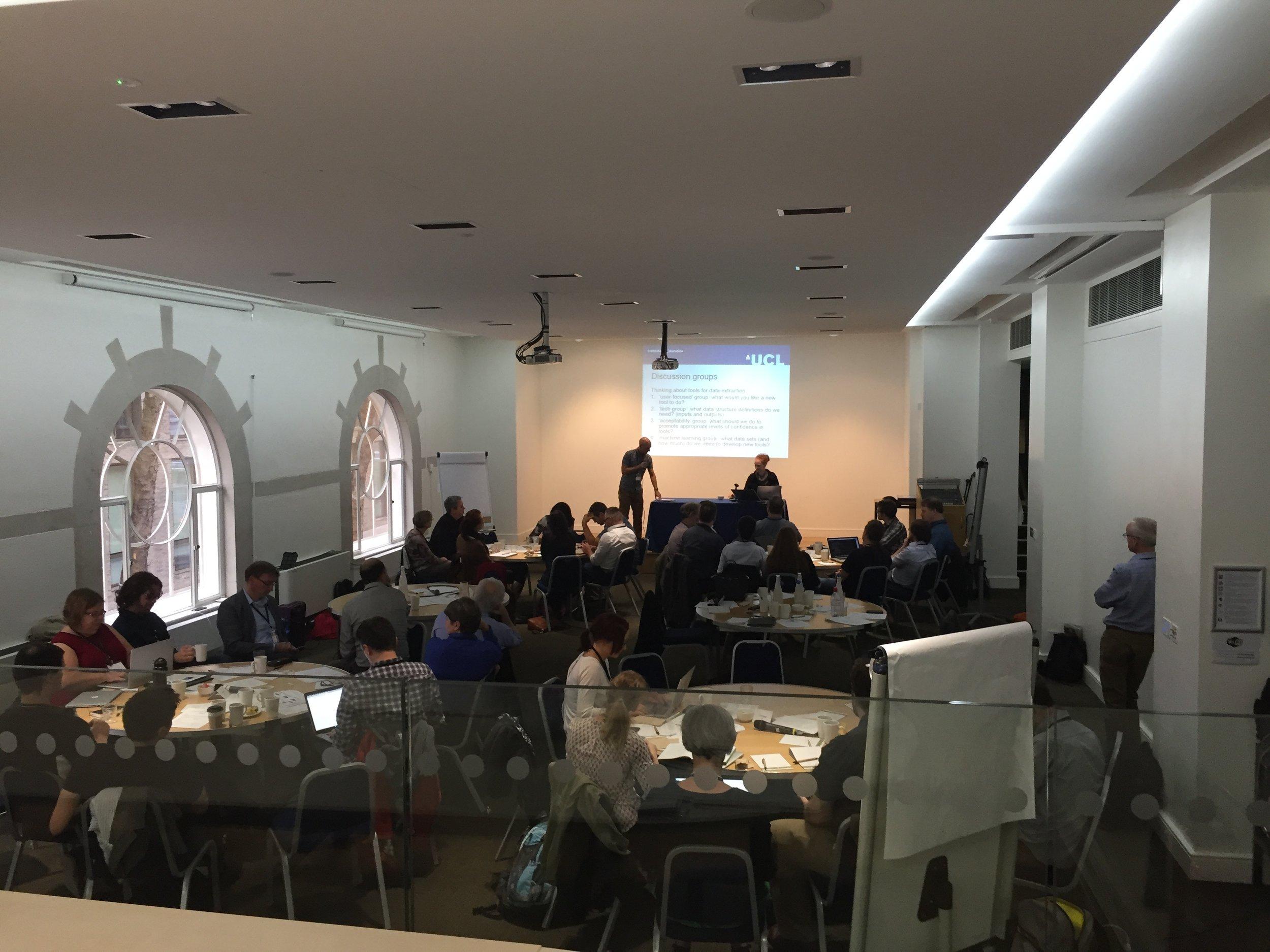 ICASR meeting & working groups