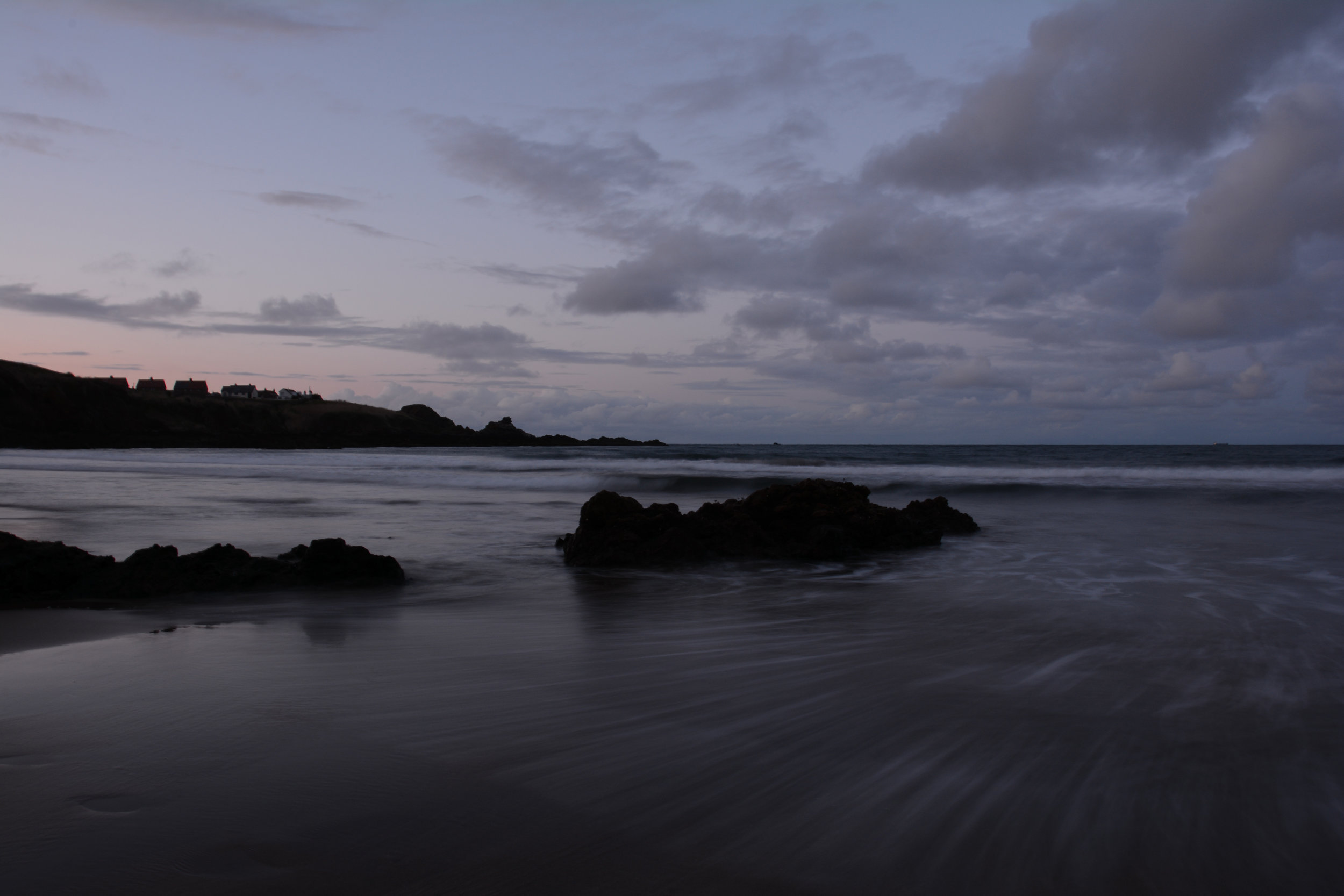 Coldingham Bay | Long Exposure. Nikon D7100 (18-105mm f/3.5-5.6G ED VR Lens)