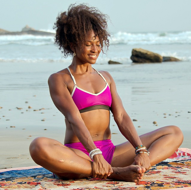 Koya   is an internationally recognized holistic health coach, author, motivational speaker and professional fitness model who is helping revolutionize raw -vegan cuisine, yoga and the holistic living landscape. Her mission is to spread love consciousness worldwide -one breath at a time.