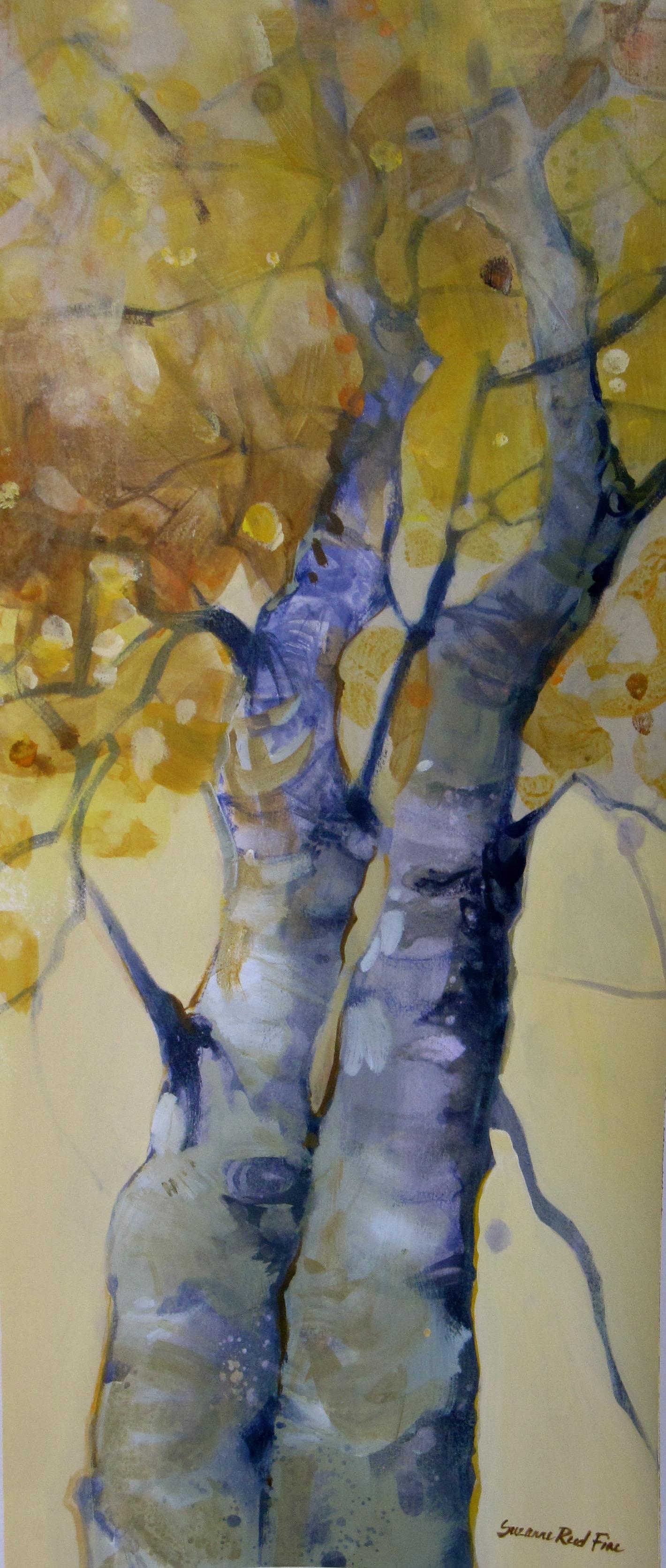 Autumn Aspens II