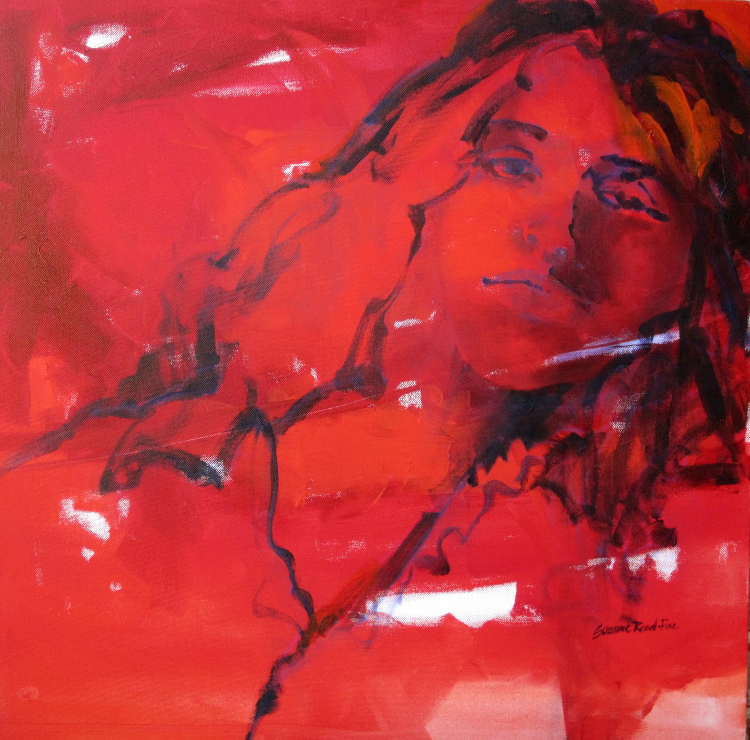 24x24 Acrylic on canvas, Sold