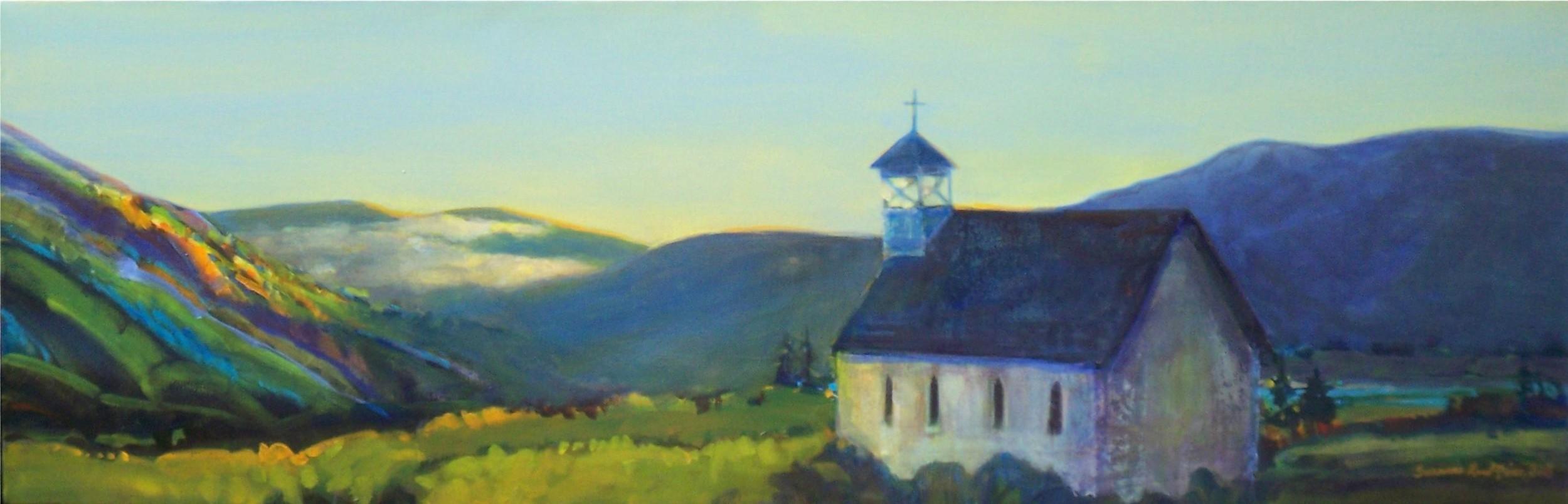 Creede Chapel, Morning Sunrise