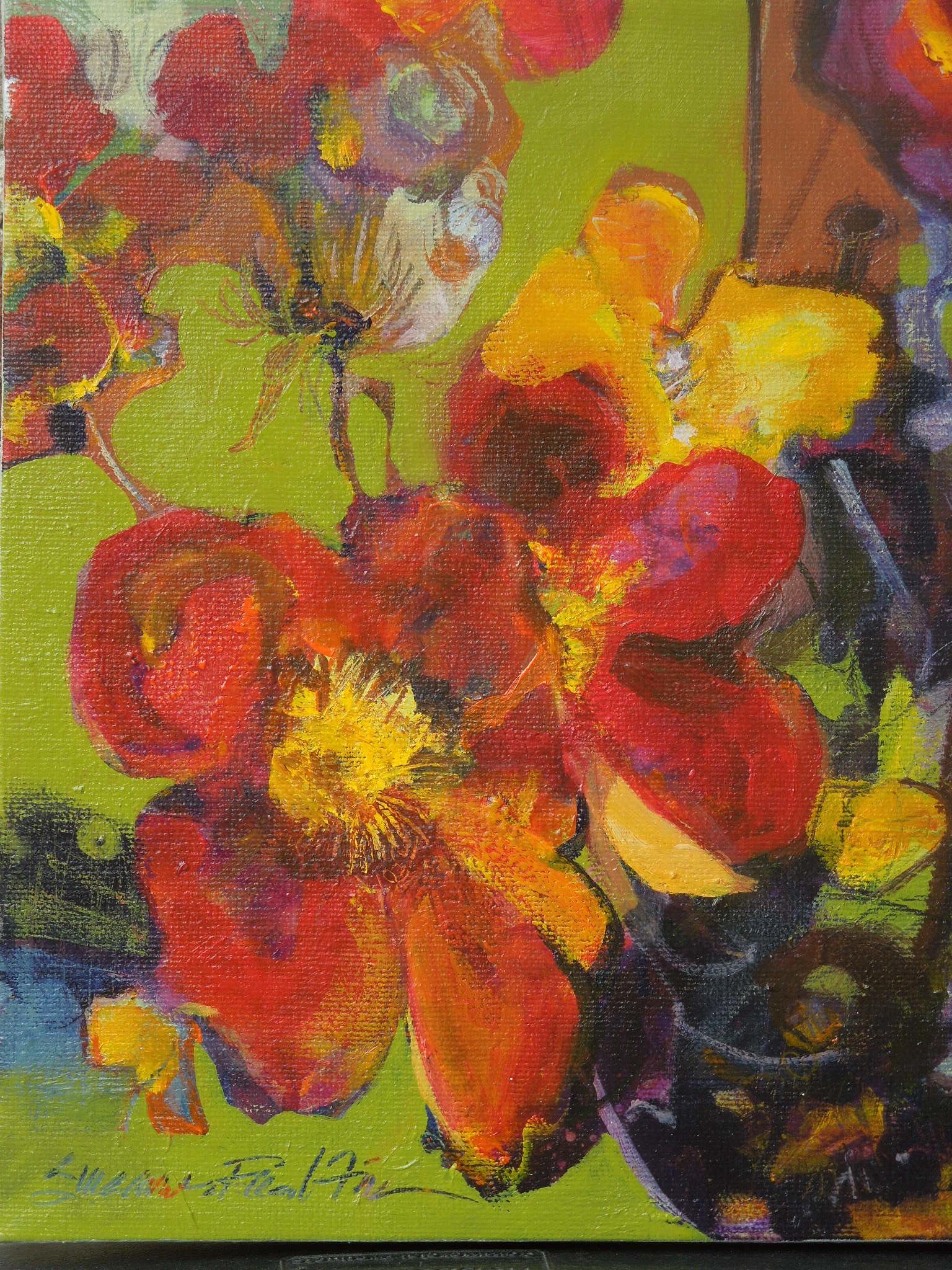 Spanish Roses (Copper Roses)