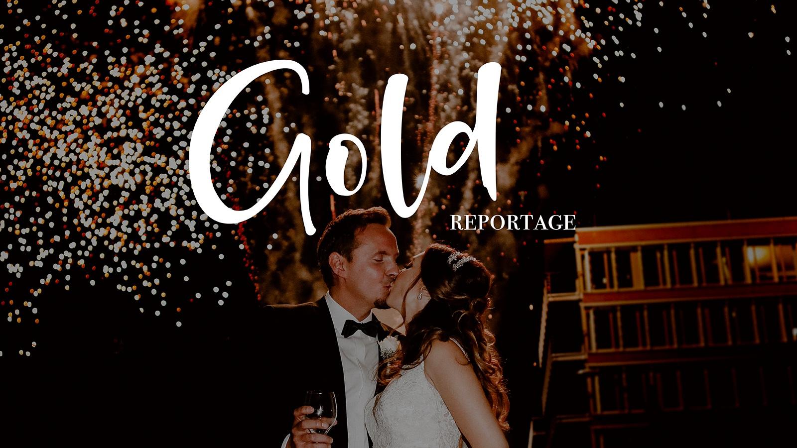 Hochzeitsreportage Gold