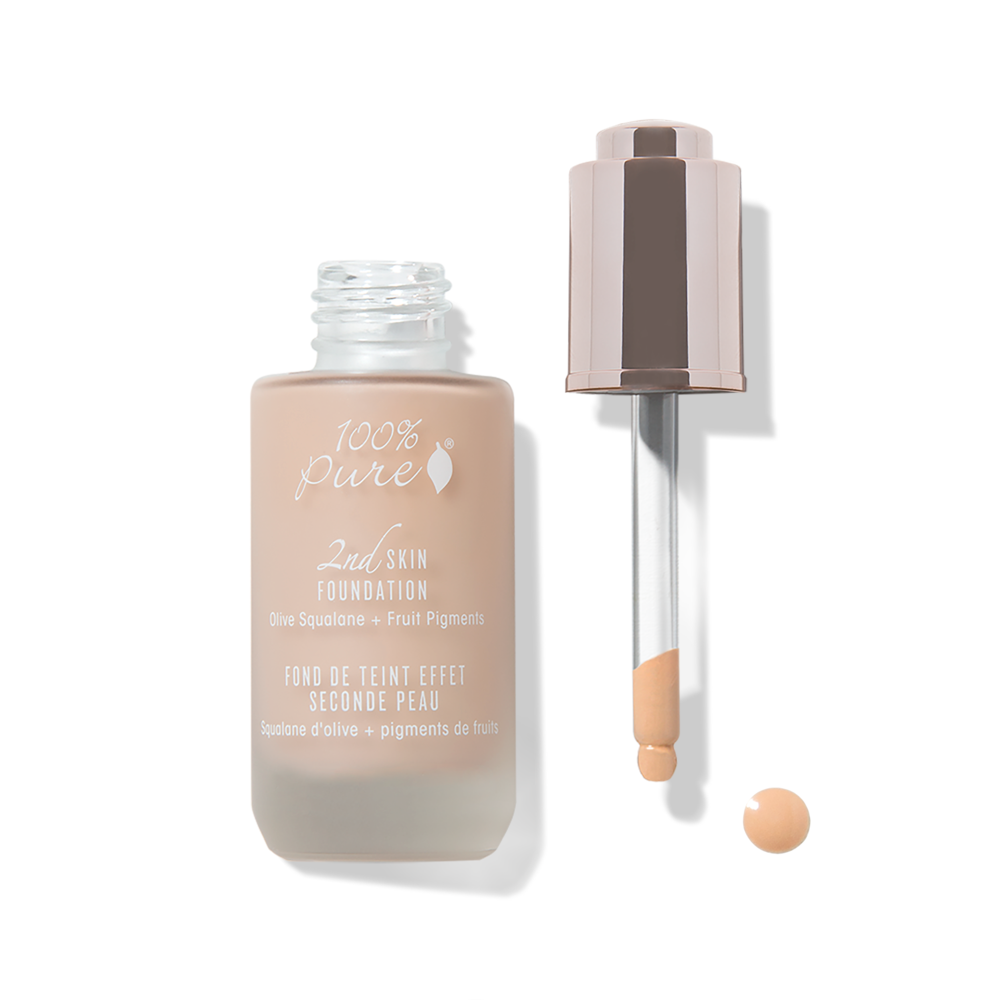 100% Pure Second Skin Foundation: Shade 3