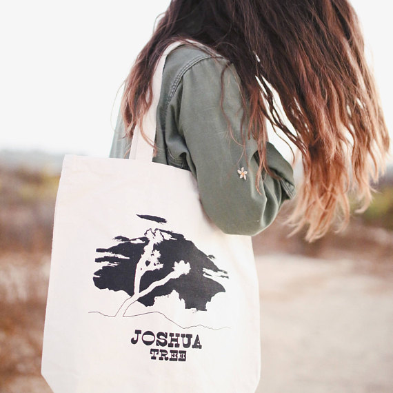 Joshua Tree Recycled Canvas Tote Bag