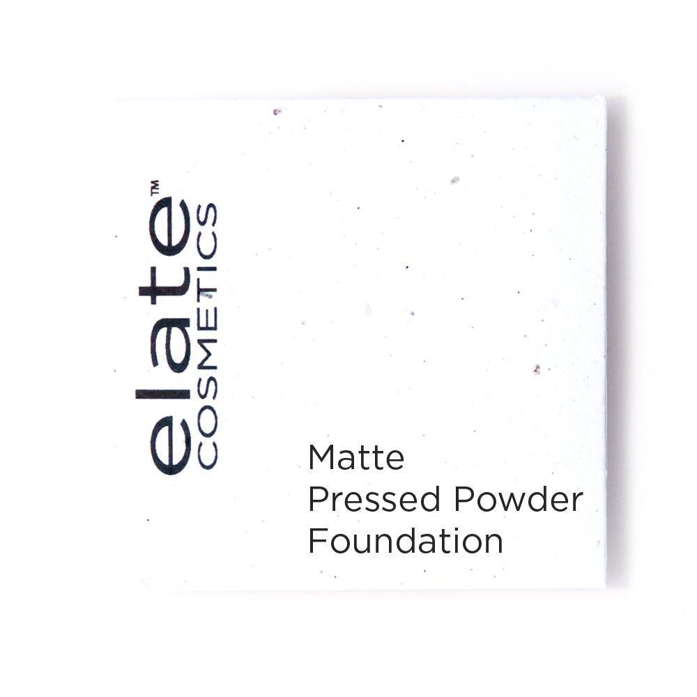Elate Cosmetics Matte Pressed Powder: Shade Pearl
