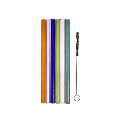 Simply Straw Party Pack - Glass Straw Set with Cleaner