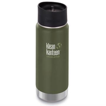 Klean Kanteen 16 oz Wide Double Walled Vacuum Insulated Coffee Mug in Fresh Pine