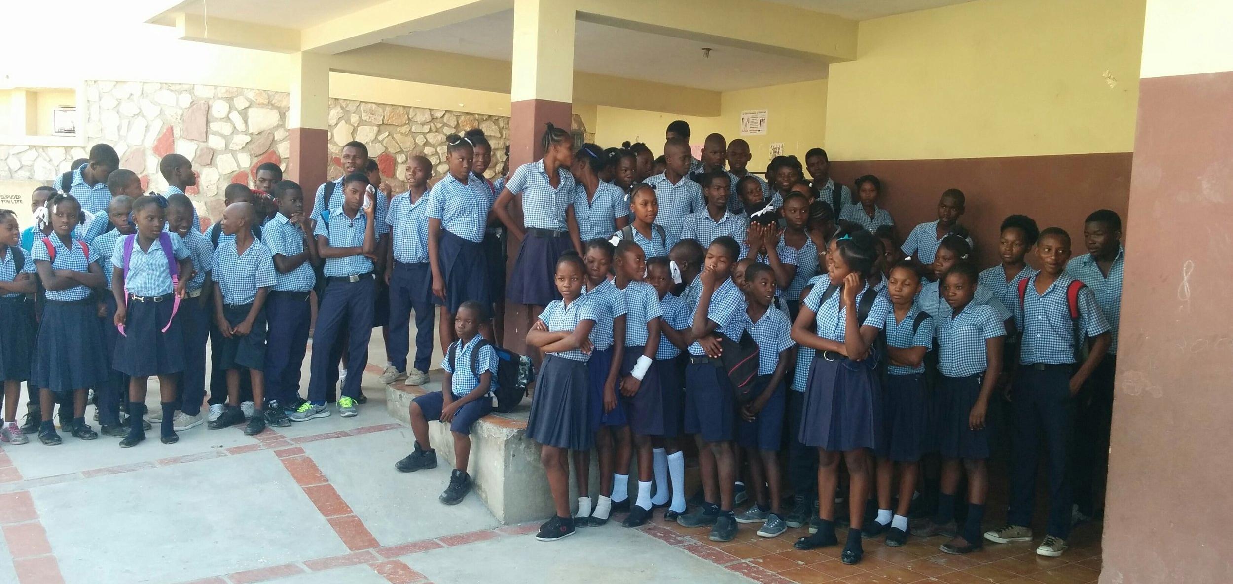 sopudep students in uniform