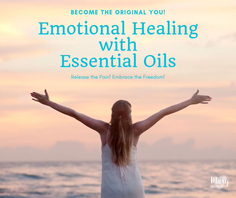 emotional healing with essential oils -