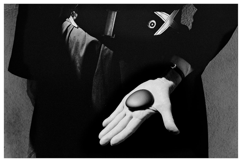 1966 GEORGIA O'KEEFFE, Abiquiu, New Mexico. Painter Georgia O'Keeffe tells me she stole her very favorite stone from photographer Eliot Porter.