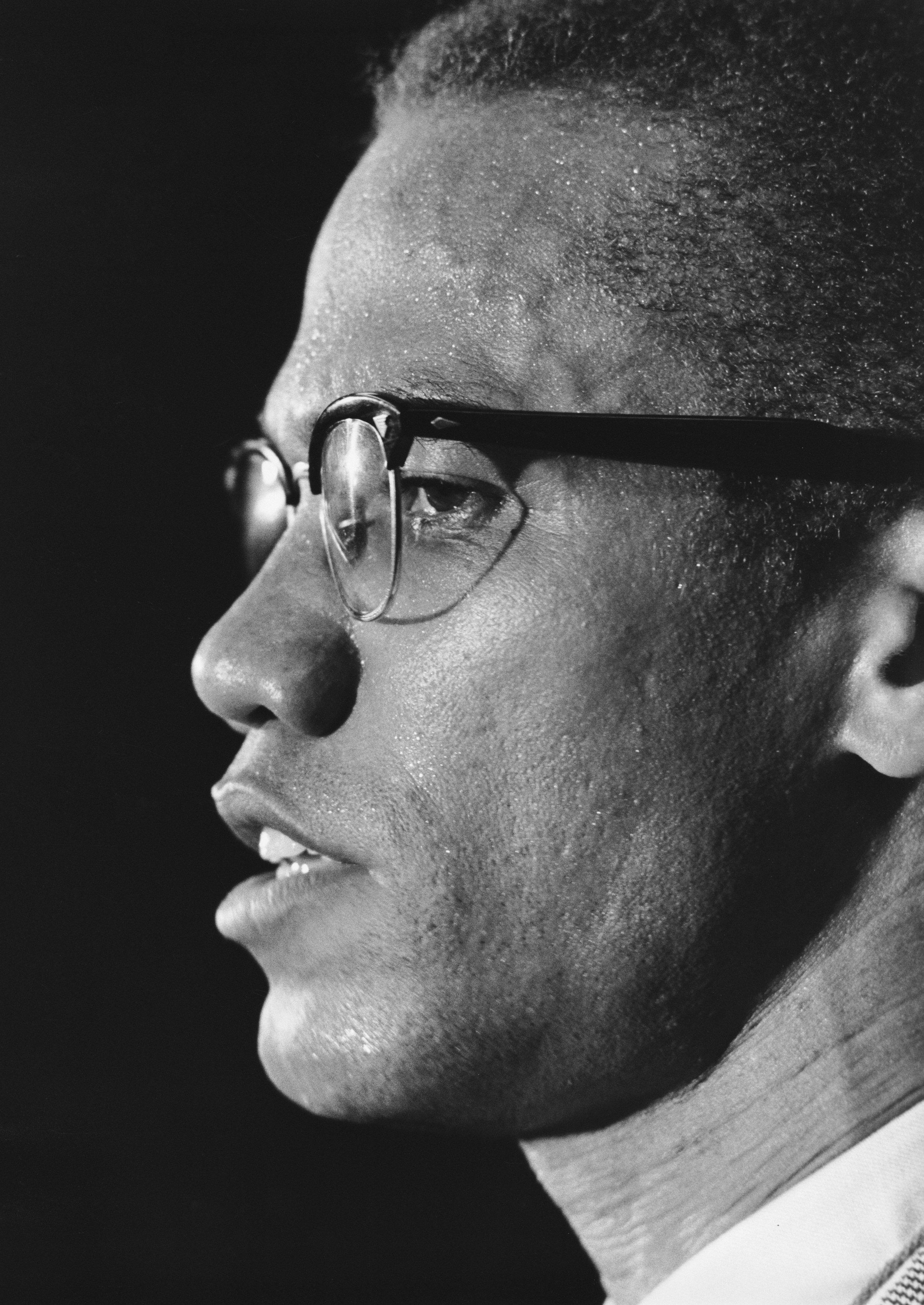 Malcolm X  profile March 12, 1964 Press Conference Park Sheraton NYC TIME