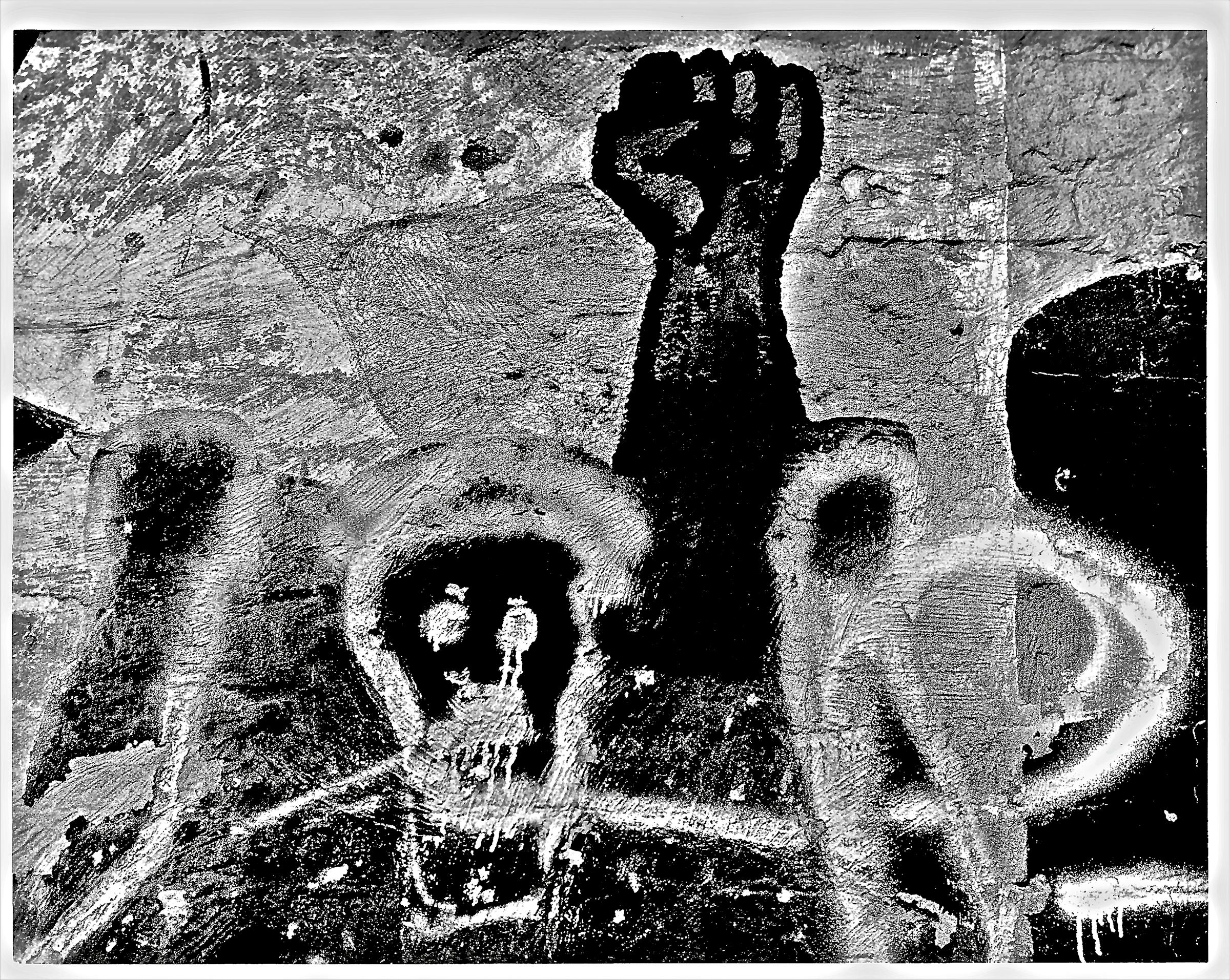 HARLEM WALLS, NYC 1980'S