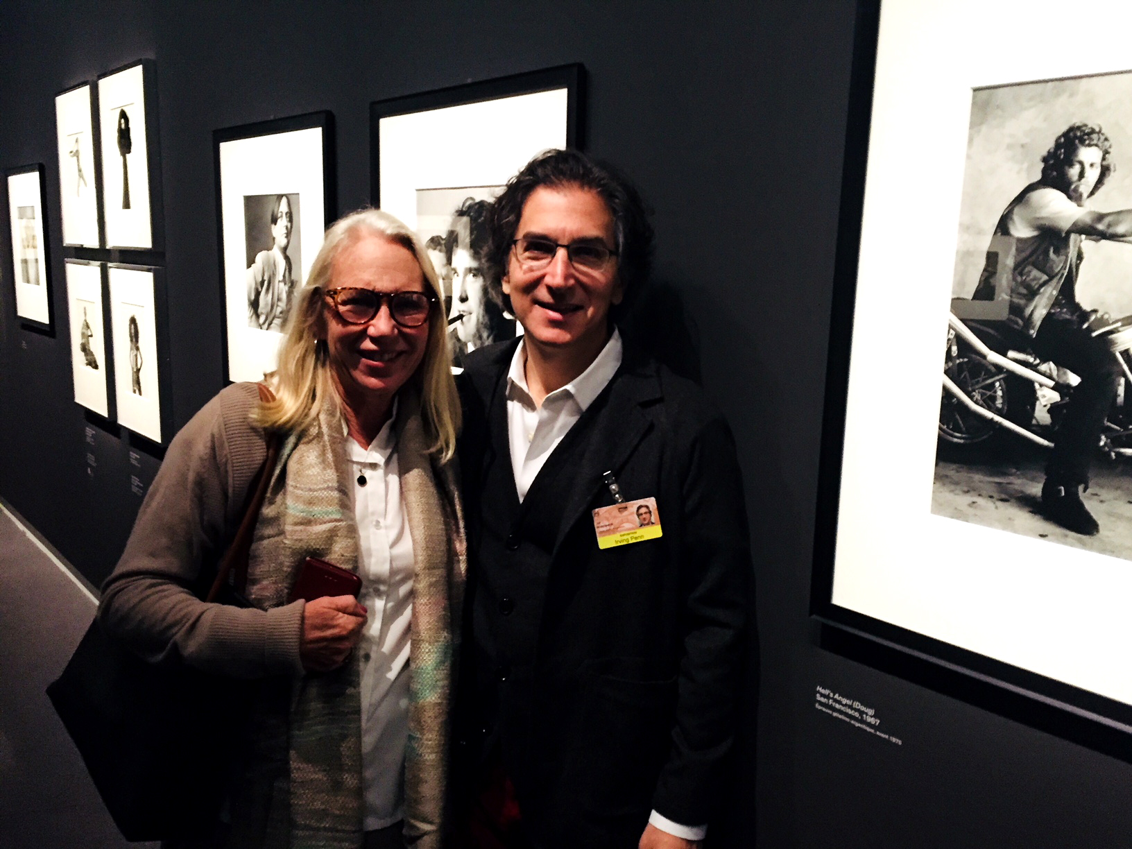 Touring the Irving Penn retrospective at the Grand Palais with curator Jeff Rosenheim