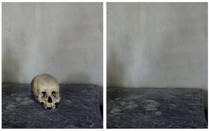 5. Cézanne's Studio (Skull and Void), 2013