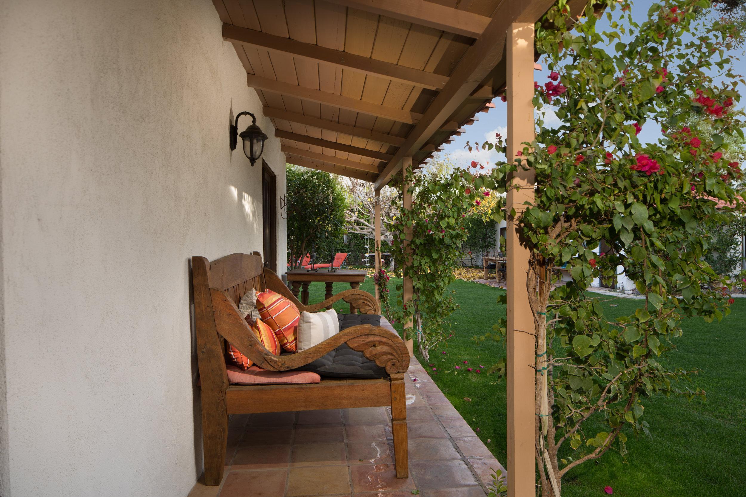 Palm Springs porch