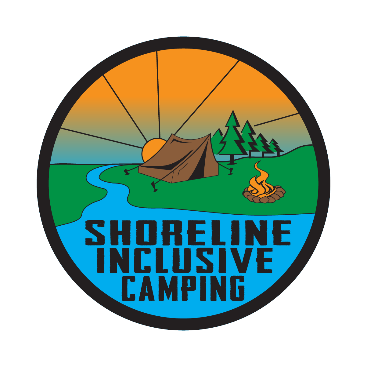 Shoreline Inclusive Camping - commercial photographer, sporting goods, lifestyle photographer, outdoor company