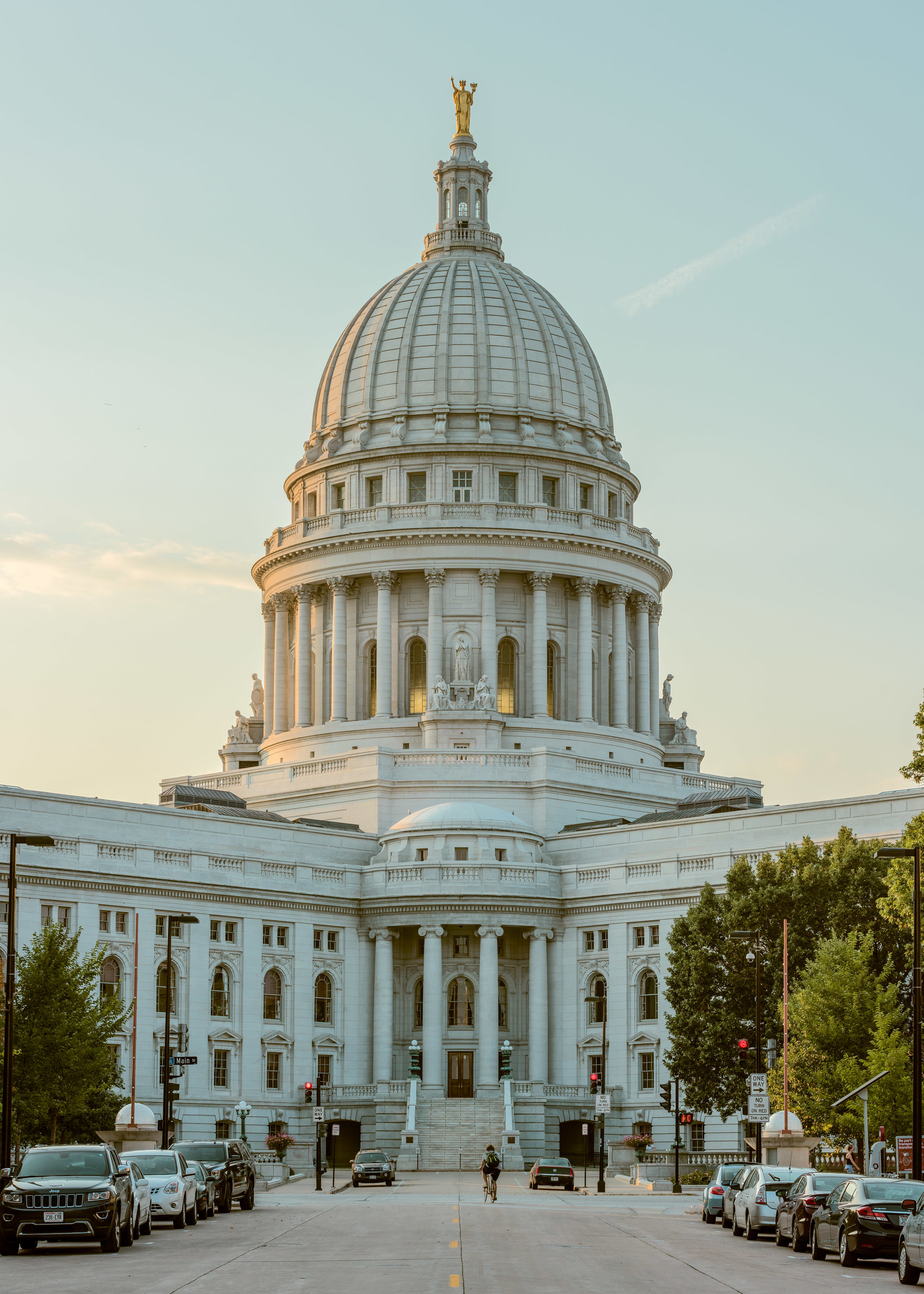 Capitol Building - Madison, WI - Architectural Photography