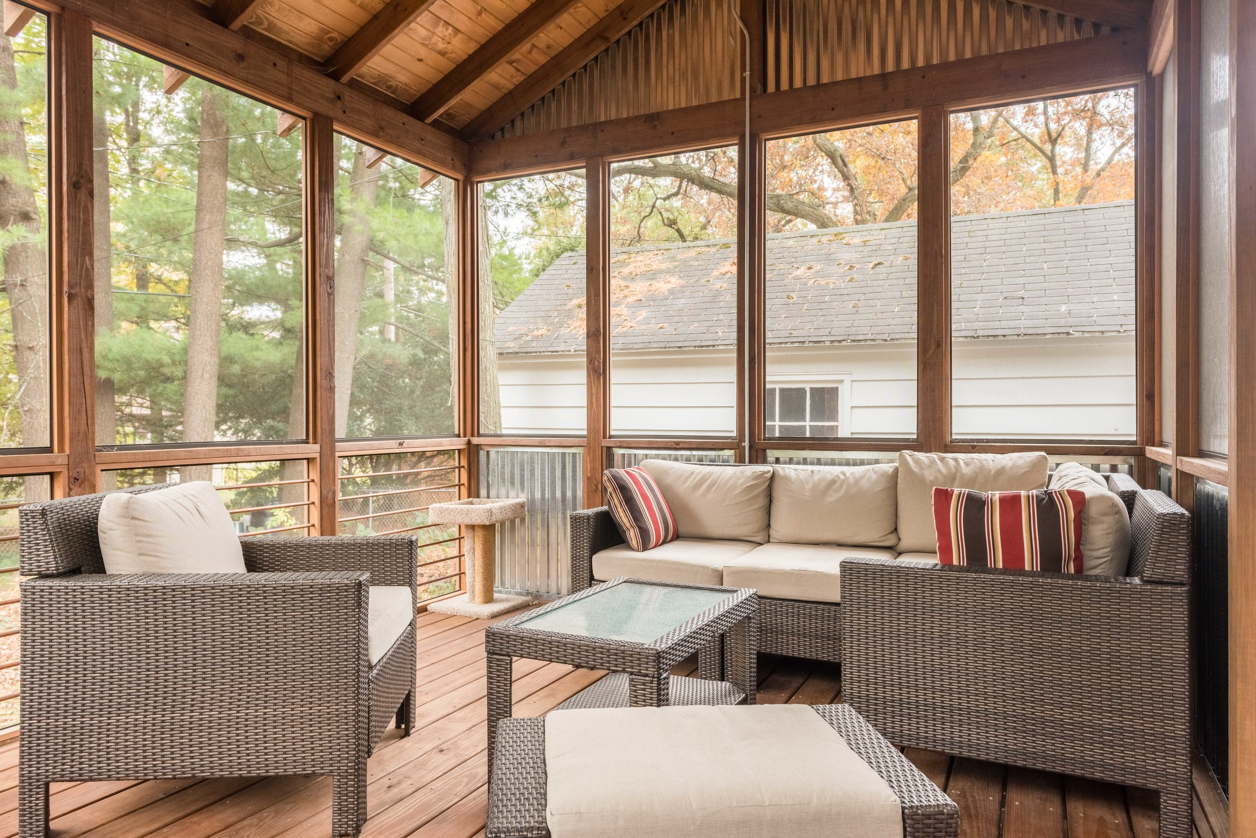 Screen Porch Addition - Architectural Photography