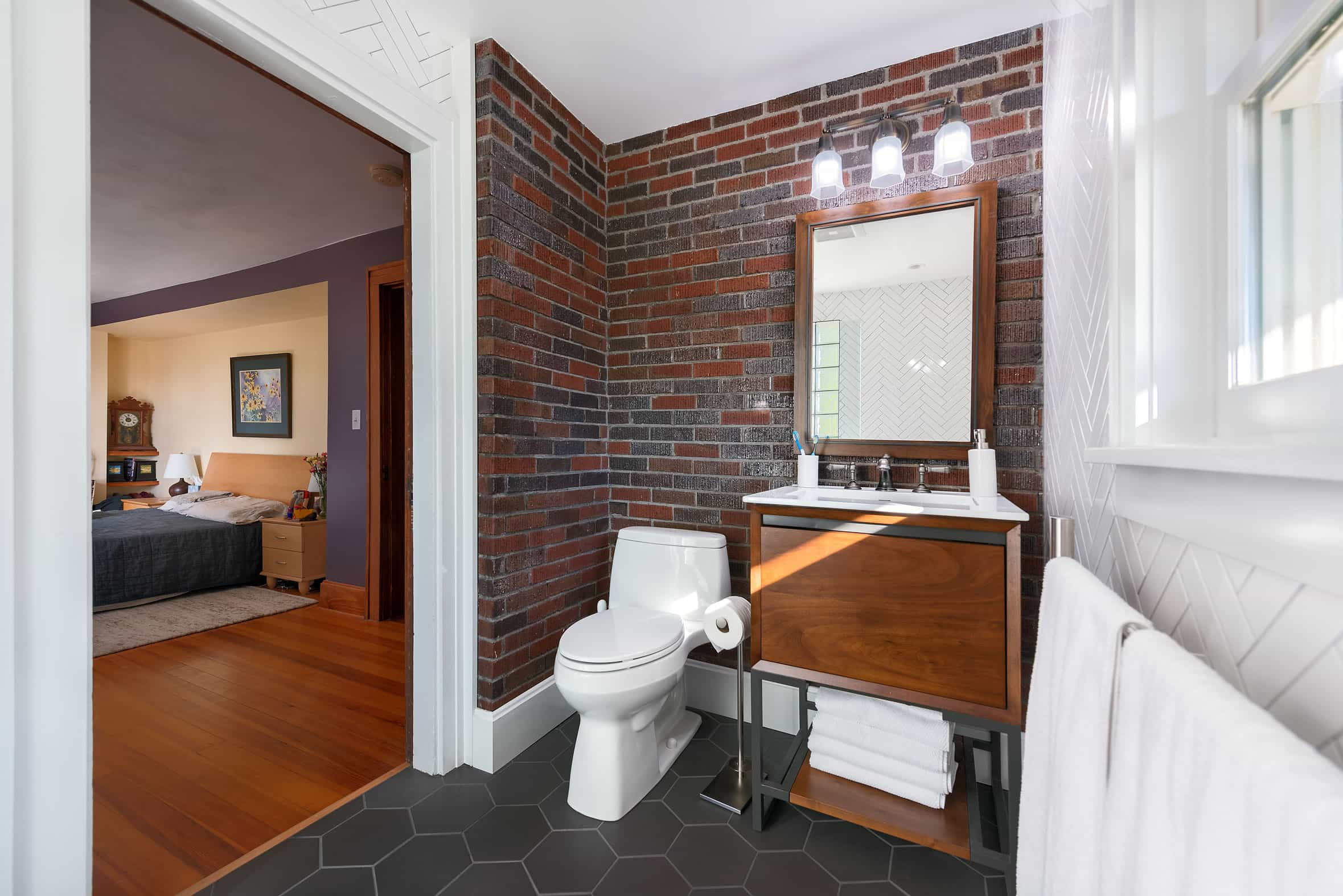 Bathroom Addition Chad's Design Build - Architectural Photography