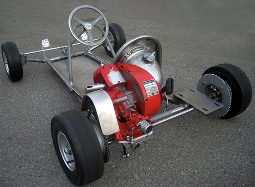 The Go Kart 400C created by Duffy in 1959.      Photo Tom Smith