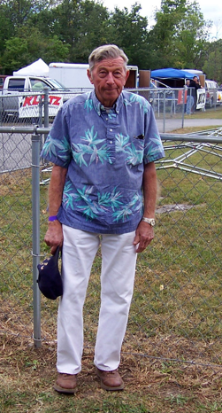 Duffy at The Big One in Fremont Ohio, 2010.           Photo: F Weir.