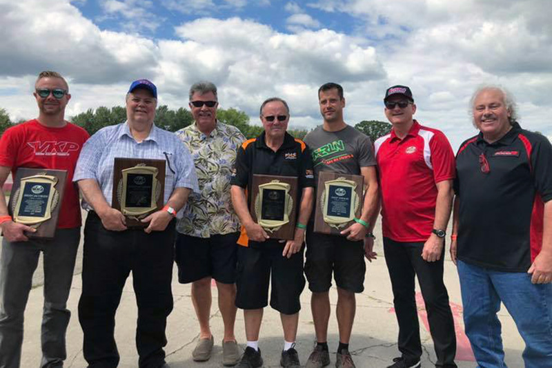 Brian and Steve Jacobsen along with George and Jamie Sieracki were inducted into the WKA Hall of Fame (Photo: WKA)