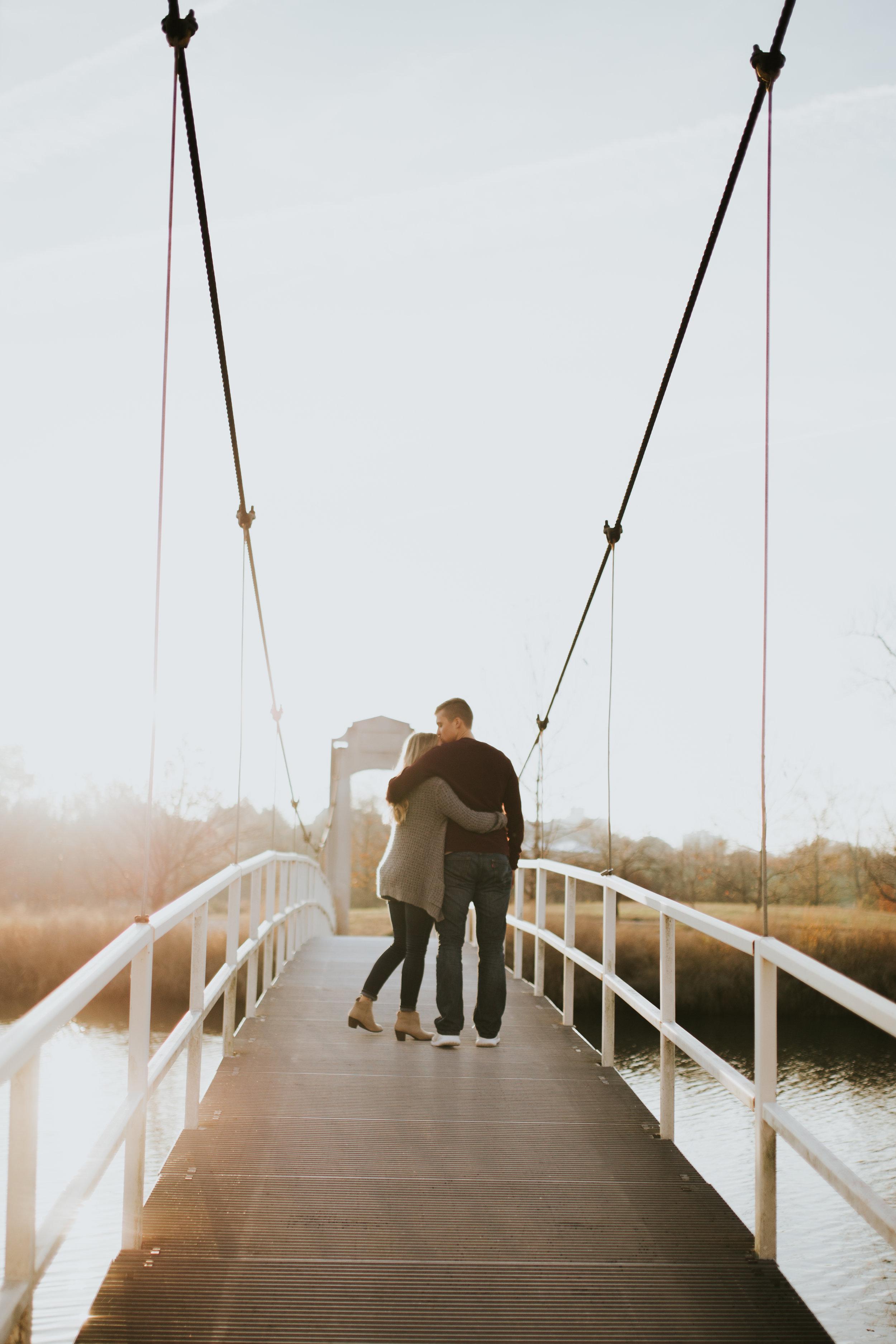 Jacob + Kaeli | Forest Park Engagement Session | El Paso Engagement Photographer