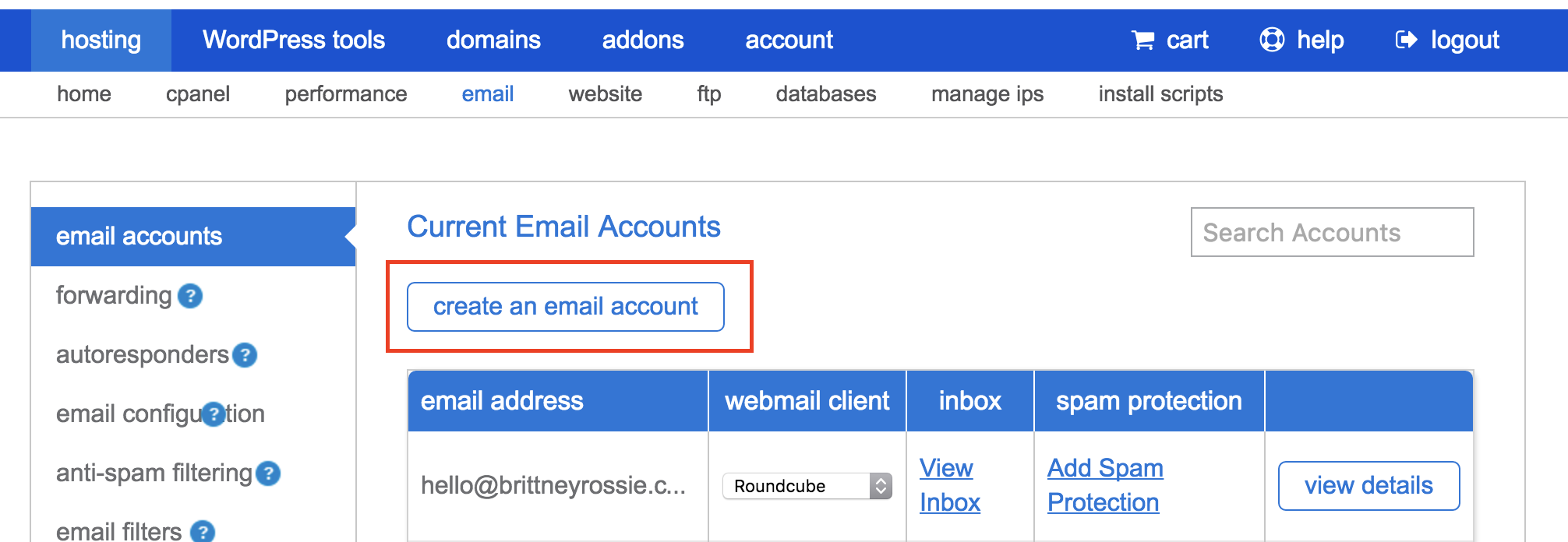 Squarespace & Bluehost Email Tutorial