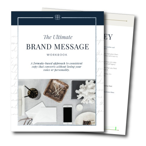 Brand Message WOrkbook