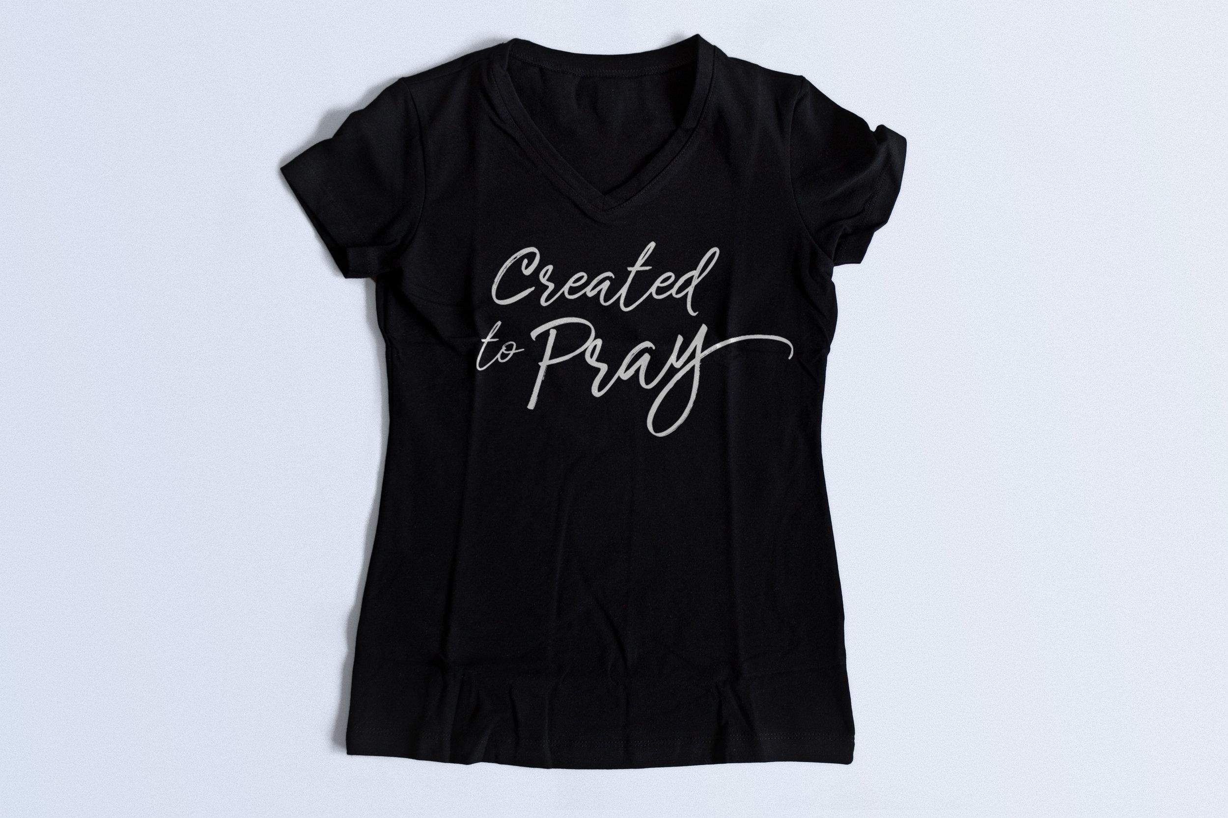 Created To Pray T-Shirt.jpg