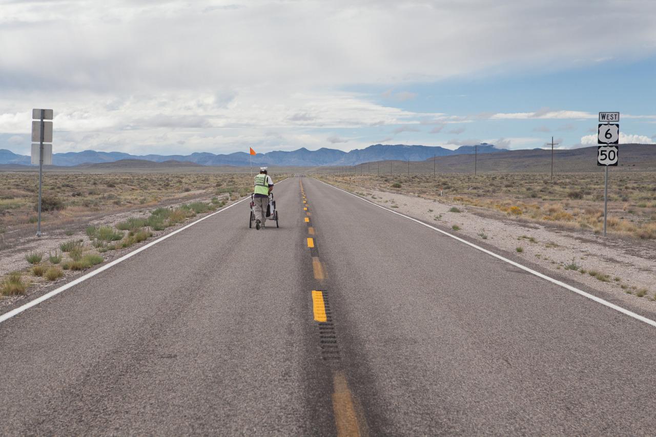 Kenyon takes off to finish his walk across America