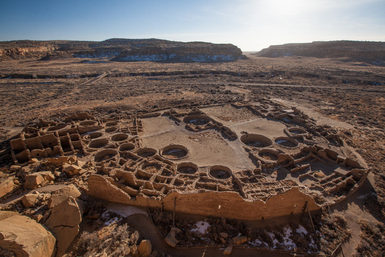 Chaco Canyon and what is left of the civilization that made it home