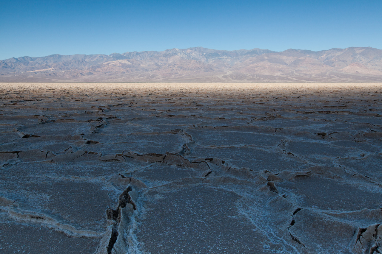 Sunrise on Badwater Basin, Death Valley