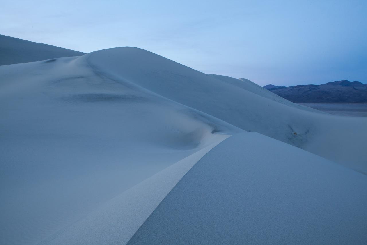 Eureka Dunes just before sunrise