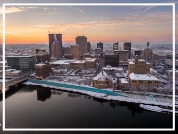 Winter in Dayton, Ohio