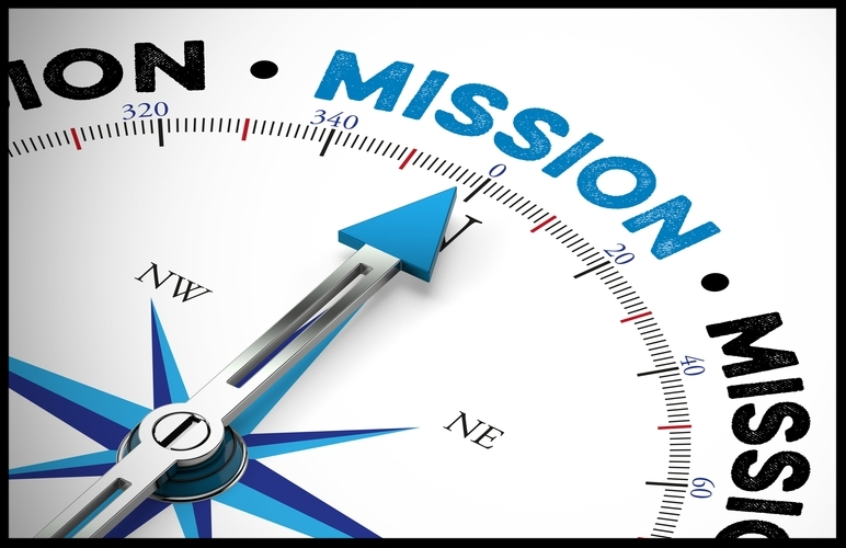 Mission statement is our pocket compass