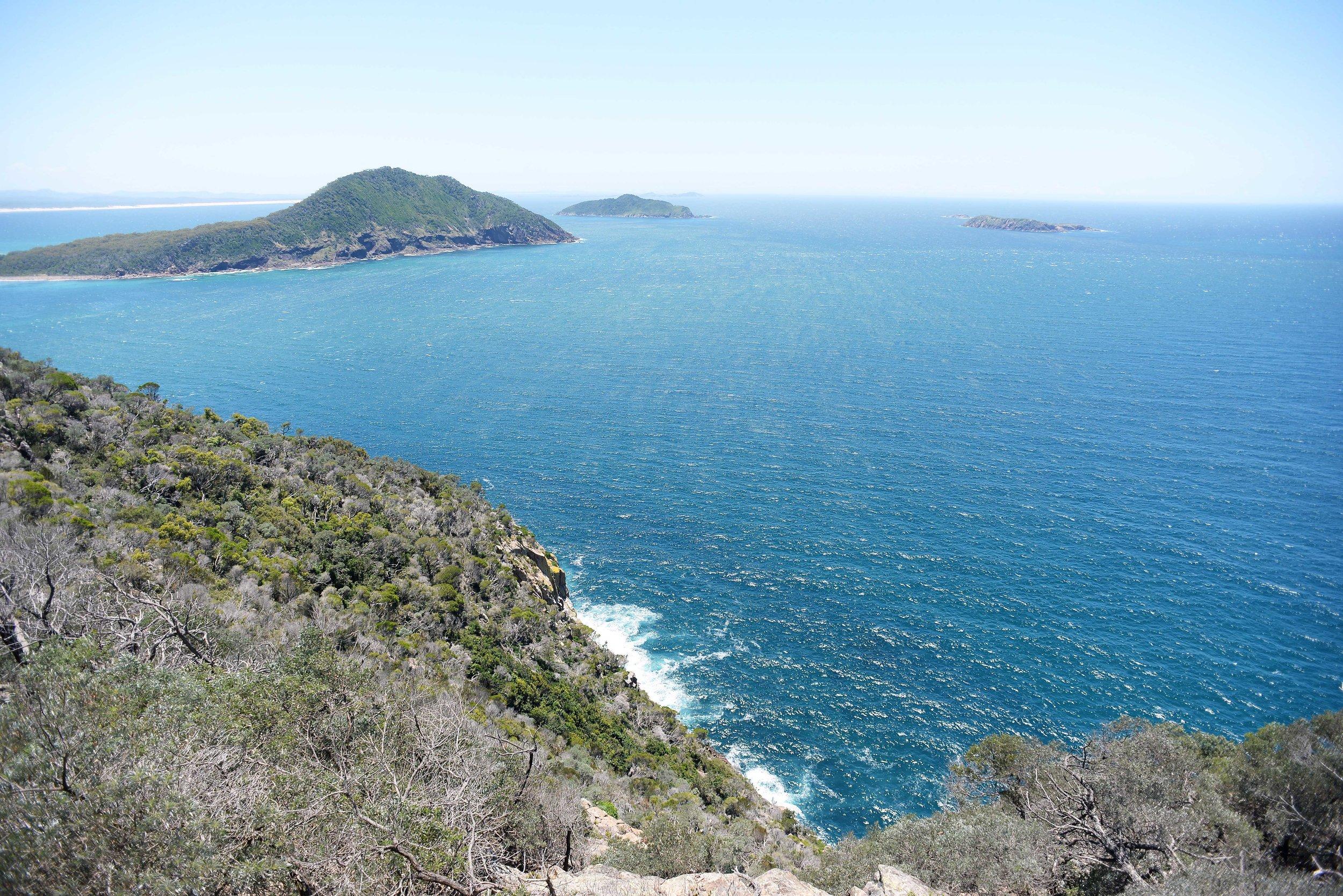 tomaree head port stephens islands