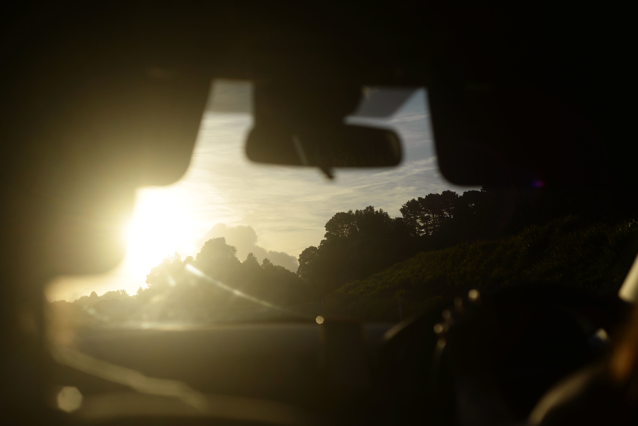 golden hour driving southern highlands