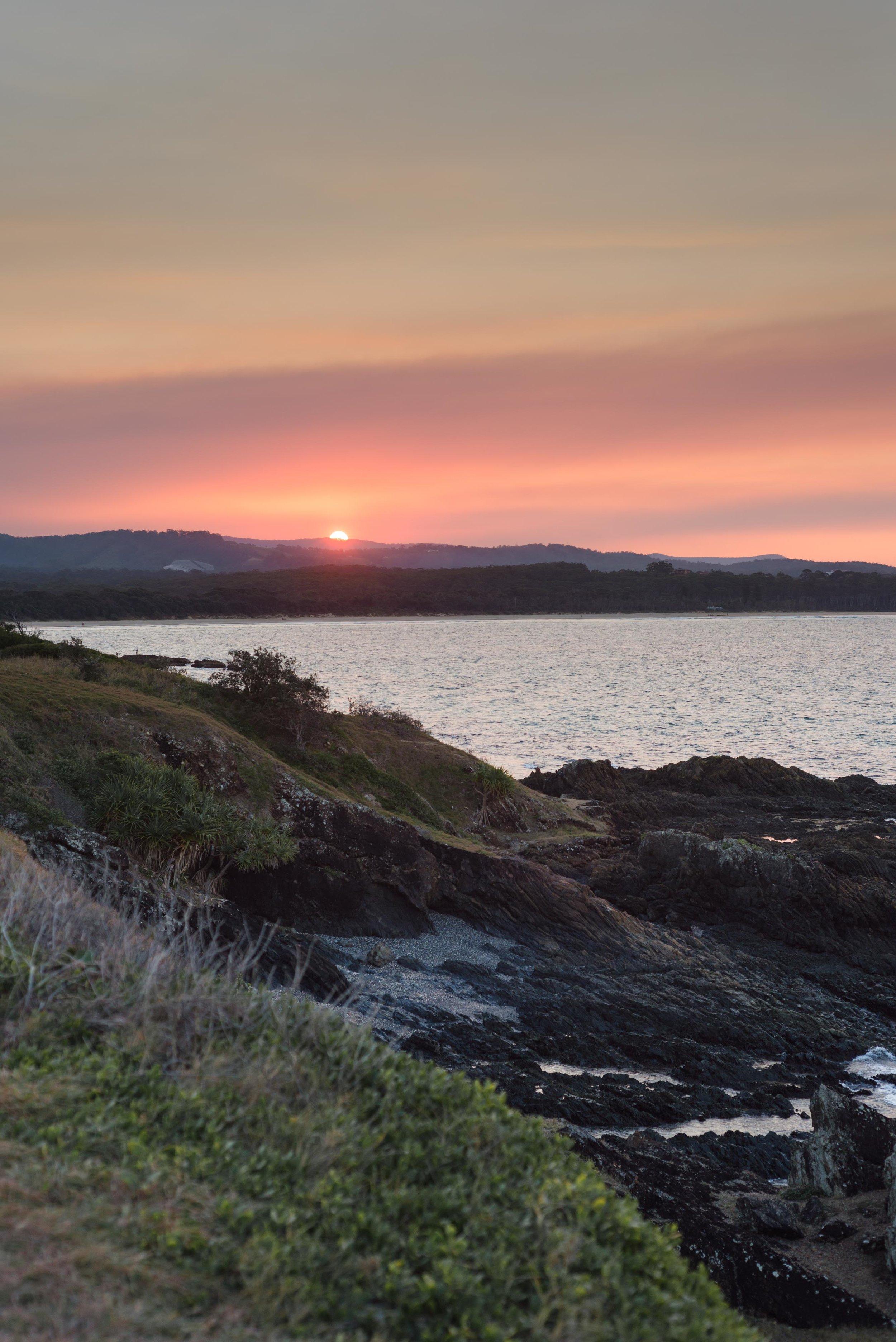 coffs sunset