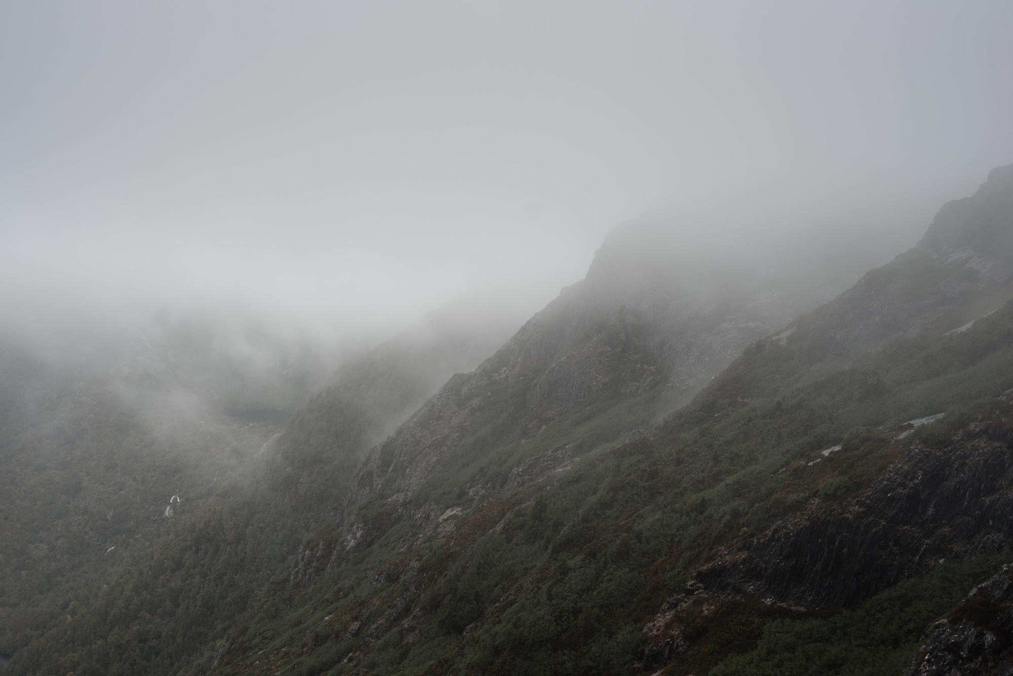 cradle mountain fog